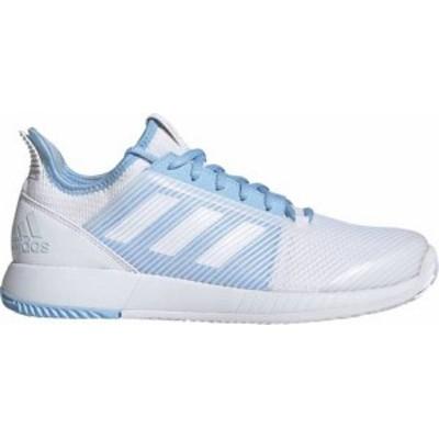 アディダス レディース スニーカー シューズ adidas Women's Defiant Bounce 2 Tennis Shoes White