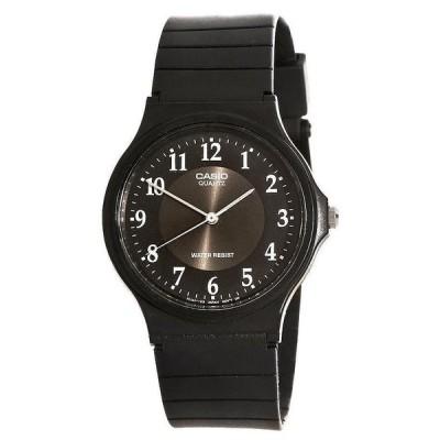 腕時計 カシオ Casio MQ24 Resin Band Black Dial Casual Analog Men's Watch - GREAT GIFT