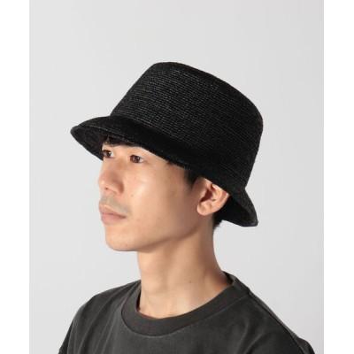 FREDY&GLOSTER / ラフィア バケットハット MEN 帽子 > ハット