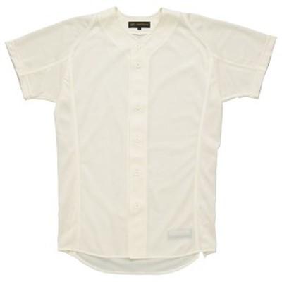 ゼット ZETT 野球ウェア  プロステイタス ユニフォームシャツ(フロントオープンスタイル)BU505F BU505F-3100