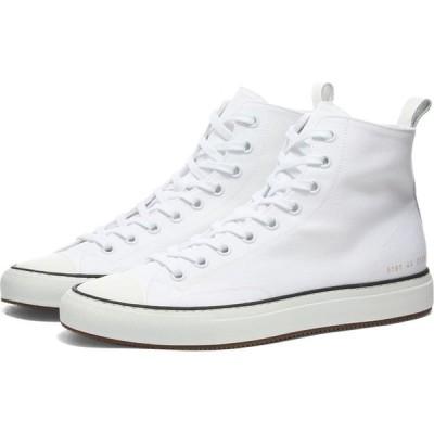 コモン プロジェクト Common Projects メンズ スニーカー シューズ・靴 Tournament High Canvas White