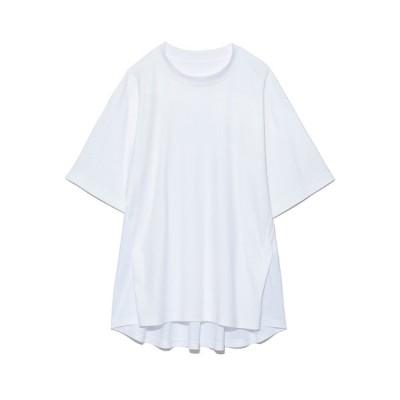 【スタイリング】 バックフレアカットトップス レディース ホワイト F styling/