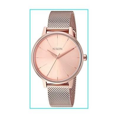 Nixon Women's Kensington Milanese Japanese-Quartz Watch with Stainless-Steel Strap, Rose Gold, 16 (Model: A1229897)【並行輸入品】