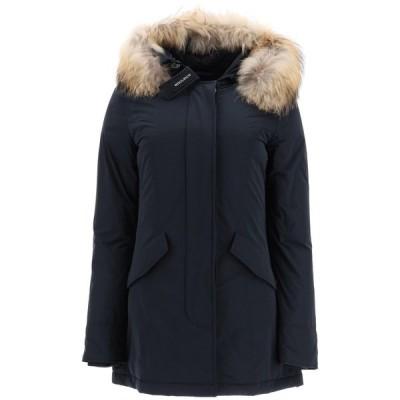 ウール リッチ レディース コート アウター Woolrich Fur-Trim Luxury Arctic Parka Coat -