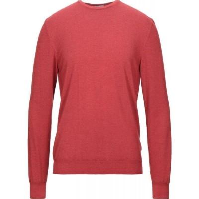 ヘリテイジ HERITAGE メンズ ニット・セーター トップス sweater Brick red