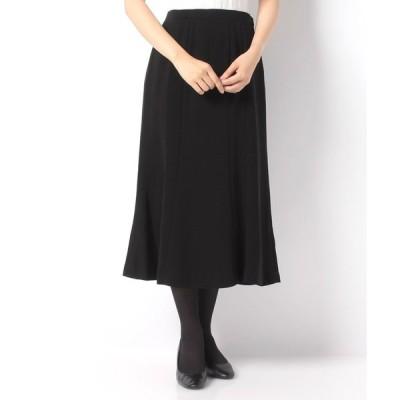 【ラピーヌ フォーマル】【オールシーズン・喪服・礼服・フォーマル用】フレアースカート