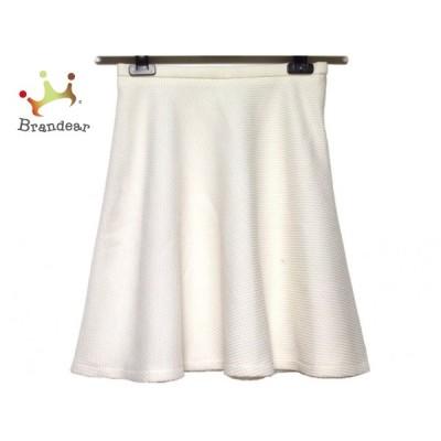 ジャスグリッティー JUSGLITTY スカート サイズ1 S レディース 訳あり 白  スペシャル特価 20201101
