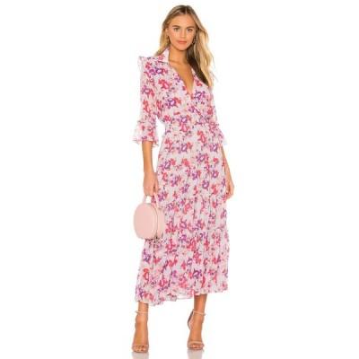 ミサロサンゼルス MISA Los Angeles レディース ワンピース ワンピース・ドレス Pamelina Dress Lilac Floral
