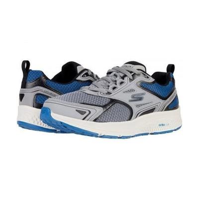 SKECHERS スケッチャーズ メンズ 男性用 シューズ 靴 スニーカー 運動靴 Go Run Consistent - Vestige - Grey/Blue