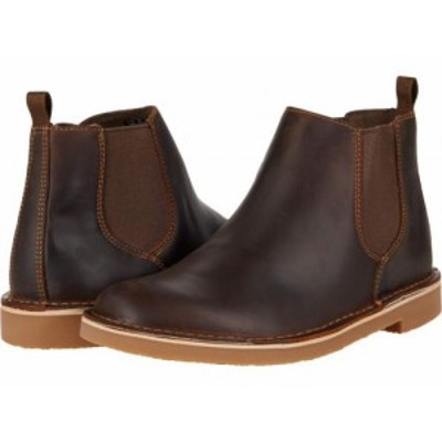 Clarks クラークス メンズ 男性用 シューズ 靴 ブーツ チェルシーブーツ Bushacre 3 Up Beeswax Leather【送料無料】