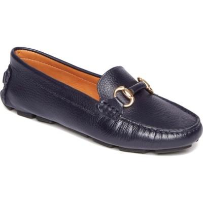 ロックポート ROCKPORT レディース スリッポン・フラット シューズ・靴 Bayview Bit Keeper Flat Navy Leather