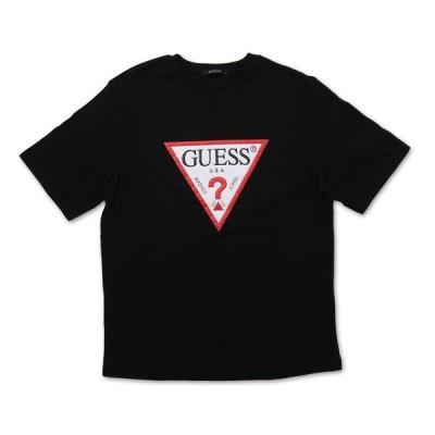 ゲス GUESS MK2K8405 MENS S/SLV TEE SHIRT Tシャツ BLACK ブラック S/S T-SHIRTS Mサイズ
