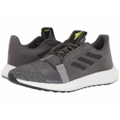 adidas Running アディダス メンズ 男性用 シューズ 靴 スニーカー 運動靴 SenseBOOST GO Grey Six/Core Black/Solar Yellow【送料無料】