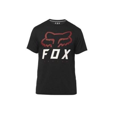 Tシャツ フォックス Fox Racing Men's Heritage Forger T Shirt Black Racing Tee Clothing Apparel