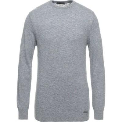 アレッサンドロ デラクア ALESSANDRO DELL'ACQUA メンズ ニット・セーター トップス Sweater Grey
