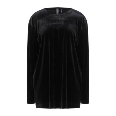 SWEATS by NORMAKAMALI T シャツ ブラック S ポリエステル 92% / ポリウレタン 8% T シャツ
