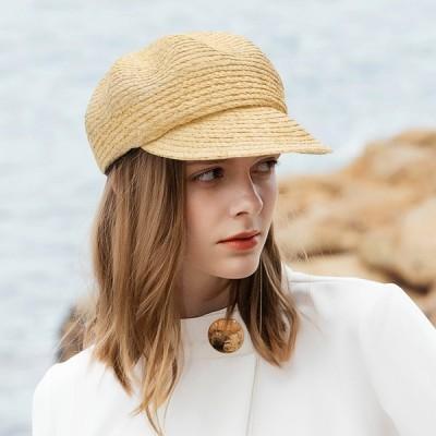 レディース ベレー帽 キャスケット 帽子 つばあり 大人 ハンチング ベレー帽 ベージュ ぼうし シンプル ベーシック 人気