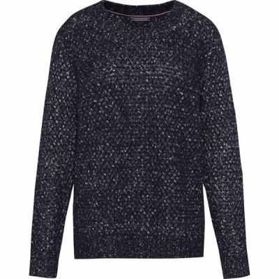 トミー ヒルフィガー Tommy Hilfiger レディース ニット・セーター トップス Vercy Long Sleeve Sweater Midnight