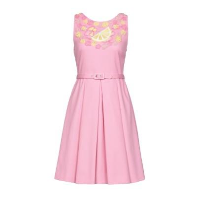 BOUTIQUE MOSCHINO ミニワンピース&ドレス ピンク 38 コットン 98% / 指定外繊維 2% ミニワンピース&ドレス