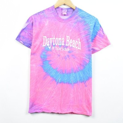 destinations タイダイ柄Tシャツ USA製 メンズS /eaa030543