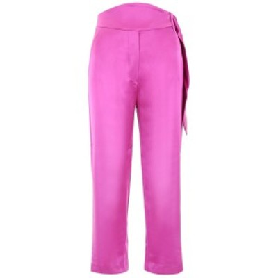 NANUSHKA/ナヌーシュカ ドレスパンツ ROSEBUD Nanushka high-waisted trousers レディース MAYE ik