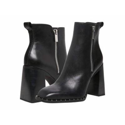 スティーブ マデン レディース ブーツ・レインブーツ シューズ Whisper Bootie Black Leather