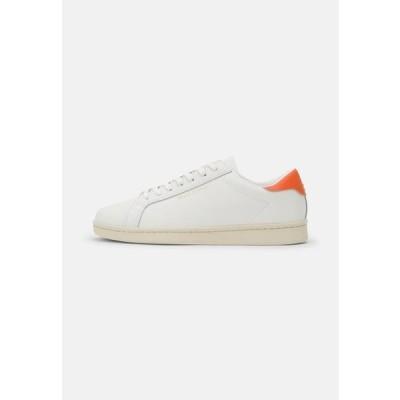 マルコポーロ メンズ 靴 シューズ VINCENZO - Trainers - white/orange