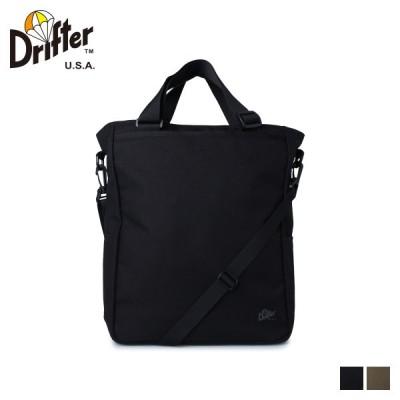 ドリフター Drifter バッグ トートバッグ ショルダー メンズ レディース 16L UTILITY TOTE ブラック カーキ 黒 DFV0600 9/29 新入荷