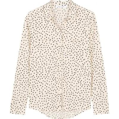 サムソエ&サムソエ Samsoe Samsoe レディース ブラウス・シャツ トップス milly ivory spot-print shirt White