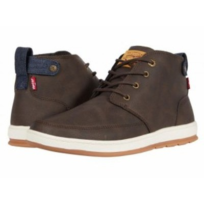 Levis(R) Shoes リーバイス メンズ 男性用 シューズ 靴 スニーカー 運動靴 Atwater Waxed Brown【送料無料】