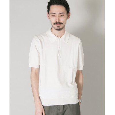 URBAN RESEARCH / URBAN RESEARCH Tailor GASコットンニットポロシャツ MEN トップス > ポロシャツ