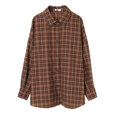 【EVRIS】チェックバックボタンシャツ