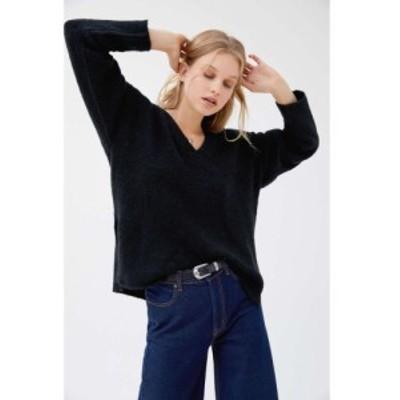 アーバンアウトフィッターズ Urban Outfitters レディース ニット・セーター Vネック トップス uo rosie cozy v-neck pullover sweater B