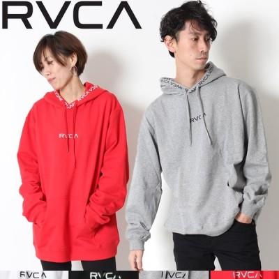RVCA ルーカ ワープ プルパーカ パーカー チビロゴ 刺繍ロゴ WARP RVCA PULL PARKA テープロゴ デザイン プルオーバー AJ041-016 ブランド