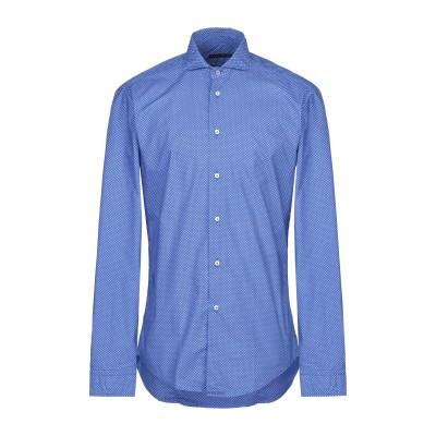 ブライアン デールズ BRIAN DALES シャツ ブルー 38 コットン 100% シャツ