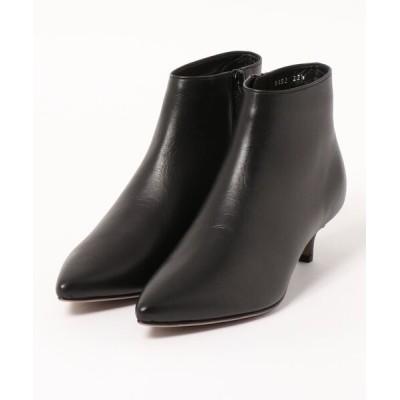 modaClea / ポインテッドトゥプレーンショートブーツ WOMEN シューズ > ブーツ