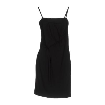 リュー ジョー LIU •JO ミニワンピース&ドレス ブラック 40 92% レーヨン 8% ポリウレタン ミニワンピース&ドレス