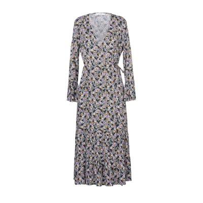 GESTUZ ロングワンピース&ドレス ブラック 34 レーヨン 97% / ポリウレタン 3% ロングワンピース&ドレス
