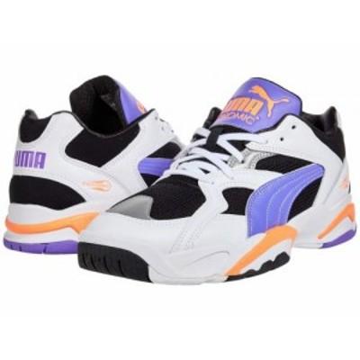 PUMA プーマ メンズ 男性用 シューズ 靴 スニーカー 運動靴 Performer Retro Puma Black/Luminous Purple/Fizzy Orange【送料無料】