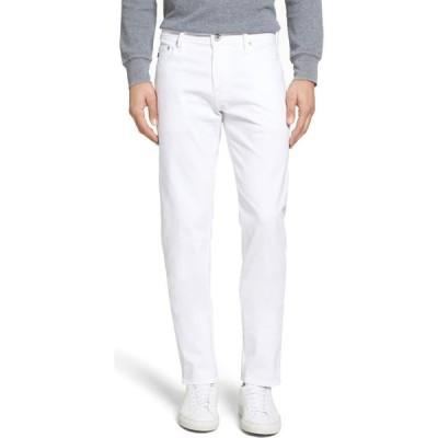 エージー AG メンズ スキニー・スリム ボトムス・パンツ Tellis SUD Modern Slim Fit Stretch Twill Pants White