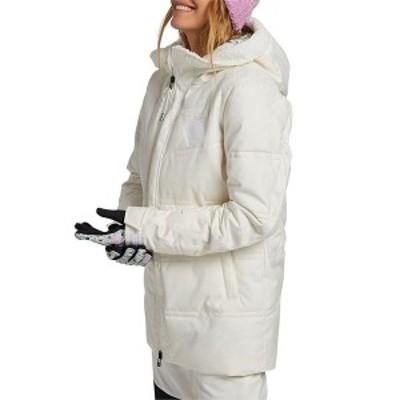 バートン レディース ジャケット・ブルゾン アウター Burton Larosa Puffy Jacket - Women's Stout White