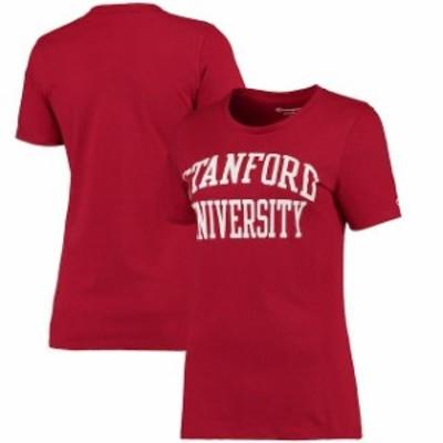 Champion チャンピオン スポーツ用品  Champion Stanford Cardinal Womens Crimson University T-Shirt