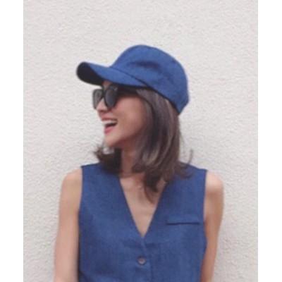 MODE ROBE / 【cozueコラボ】デニムキャップ ゴブランキャップ 帽子 WOMEN 帽子 > キャップ
