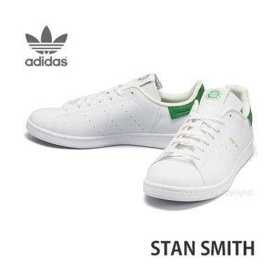 アディダス スタン スミス adidas Originals STAN SMITH スニーカー 靴 メンズ シューズ 定番 ヴィーガン カラー:WHT/WHT/GRN