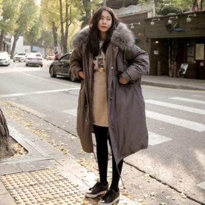 レディースロングコート 棉コード 新入荷 大人気 厚め棉コートゆったり 膝丈 大きいサイズ 学生棉コートyrfn05