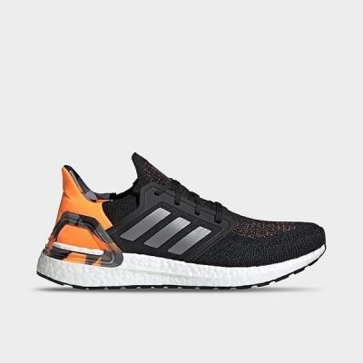 アディダス メンズ ウルトラブースト 20 adidas Ultra Boost 20 ランニングシューズ Black/Grey Three/Signal Orange