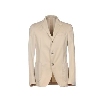 ラルディーニ LARDINI テーラードジャケット ベージュ 52 コットン 96% / ポリウレタン 4% テーラードジャケット
