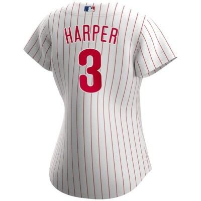 ナイキ メンズ シャツ トップス Philadelphia Phillies Women's Bryce Harper Official Player Replica Jersey