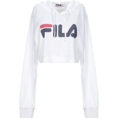 フィラ FILA レディース Tシャツ トップス T-Shirt White
