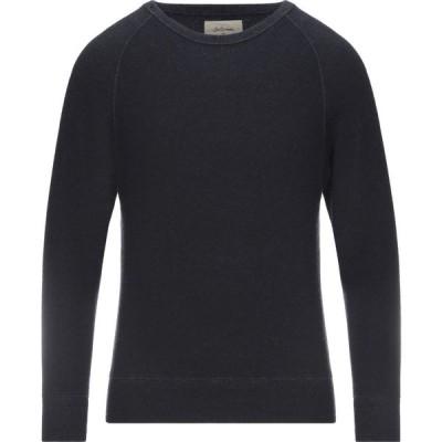 ベルローズ BELLEROSE メンズ スウェット・トレーナー トップス sweatshirt Dark blue